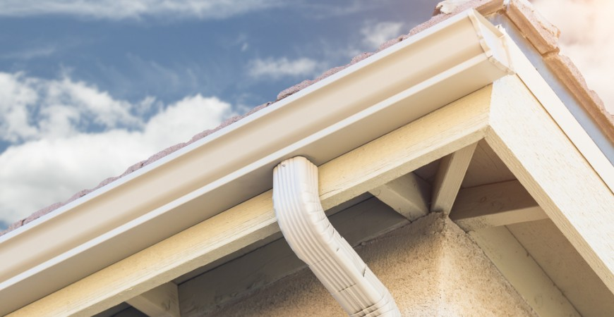 how to clean rain gutters